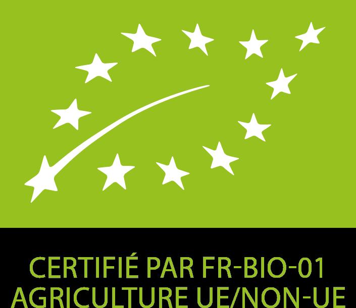 Label agriculture biologique UE (FR-BIO-01)